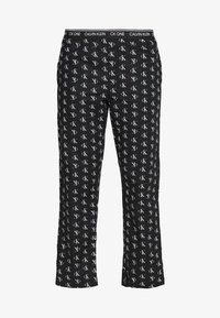 Calvin Klein Underwear - CK ONE WOVENS COTTON SLEEP PANT - Pyjamabroek - black - 4