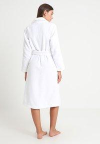 Calvin Klein Underwear - ROBE - Badekåber - white - 2