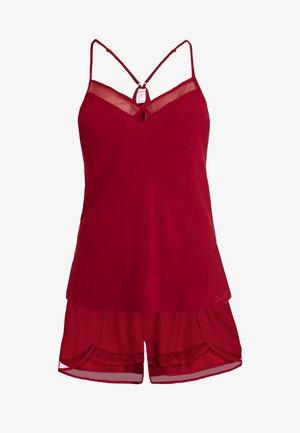 SHORT SLEEP SET - Pyjama set - raspberry jam