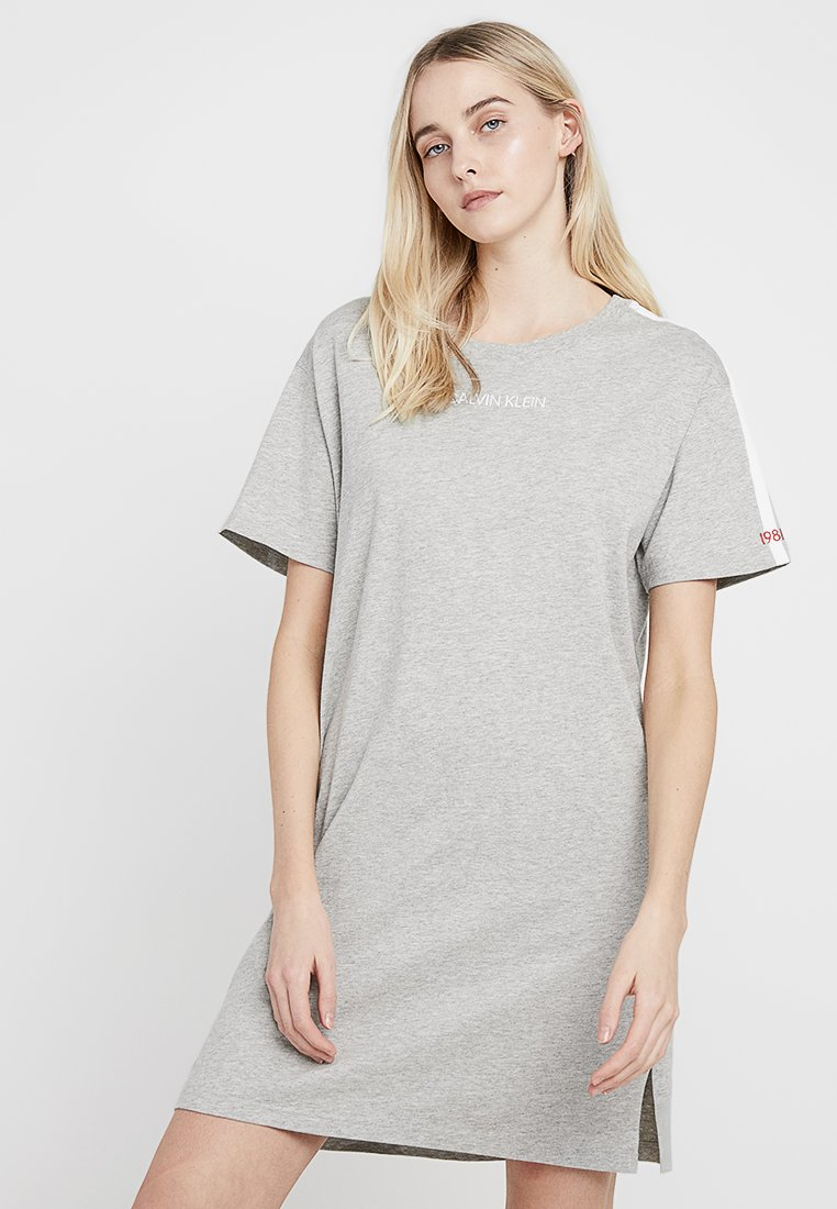 Calvin Klein Underwear - STATEMENT 1981 NIGHTSHIRT - Nightie - grey heather