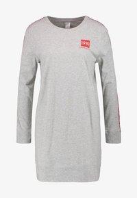 Calvin Klein Underwear - BOLD LOUNGE NIGHTSHIRT - Nattskjorte - grey heather - 4