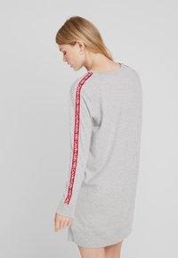 Calvin Klein Underwear - BOLD LOUNGE NIGHTSHIRT - Nattskjorte - grey heather - 2