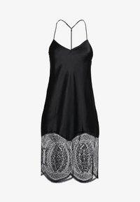 Calvin Klein Underwear - MEDALLION CHEMISE - Nightie - black - 3