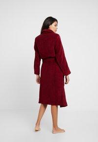Calvin Klein Underwear - LOGO ROBE ROBE - Dressing gown - raspberry jam - 2
