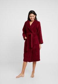 Calvin Klein Underwear - LOGO ROBE ROBE - Dressing gown - raspberry jam - 1