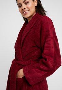 Calvin Klein Underwear - LOGO ROBE ROBE - Dressing gown - raspberry jam - 4