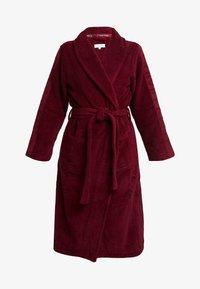 Calvin Klein Underwear - LOGO ROBE ROBE - Dressing gown - raspberry jam - 3