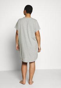 Calvin Klein Underwear - ONE LOUNGE NIGHTSHIRT - Nightie - black - 2