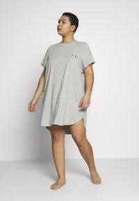Calvin Klein Underwear - ONE LOUNGE NIGHTSHIRT - Nightie - black - 1