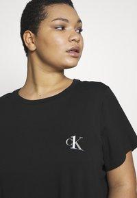 Calvin Klein Underwear - ONE LOUNGE NIGHTSHIRT - Nightie - black - 4