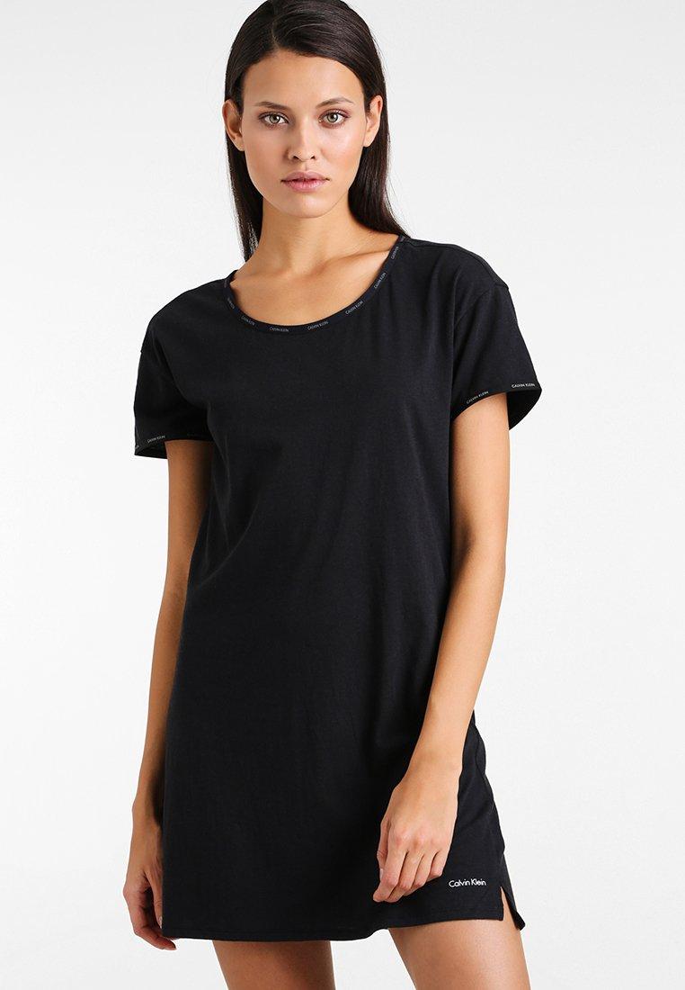 Calvin Klein Underwear - NIGHTSHIRT - Nattskjorte - black