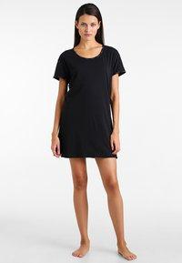 Calvin Klein Underwear - NIGHTSHIRT - Nattskjorte - black - 1