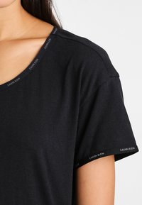 Calvin Klein Underwear - NIGHTSHIRT - Nattskjorte - black - 3