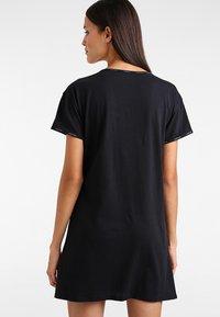 Calvin Klein Underwear - NIGHTSHIRT - Nattskjorte - black - 2