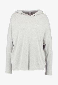Calvin Klein Underwear - HOODIE - Nattøj trøjer - grey - 3