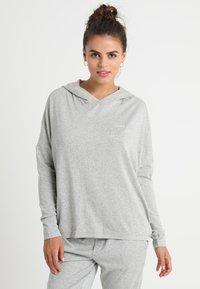 Calvin Klein Underwear - HOODIE - Nattøj trøjer - grey - 0