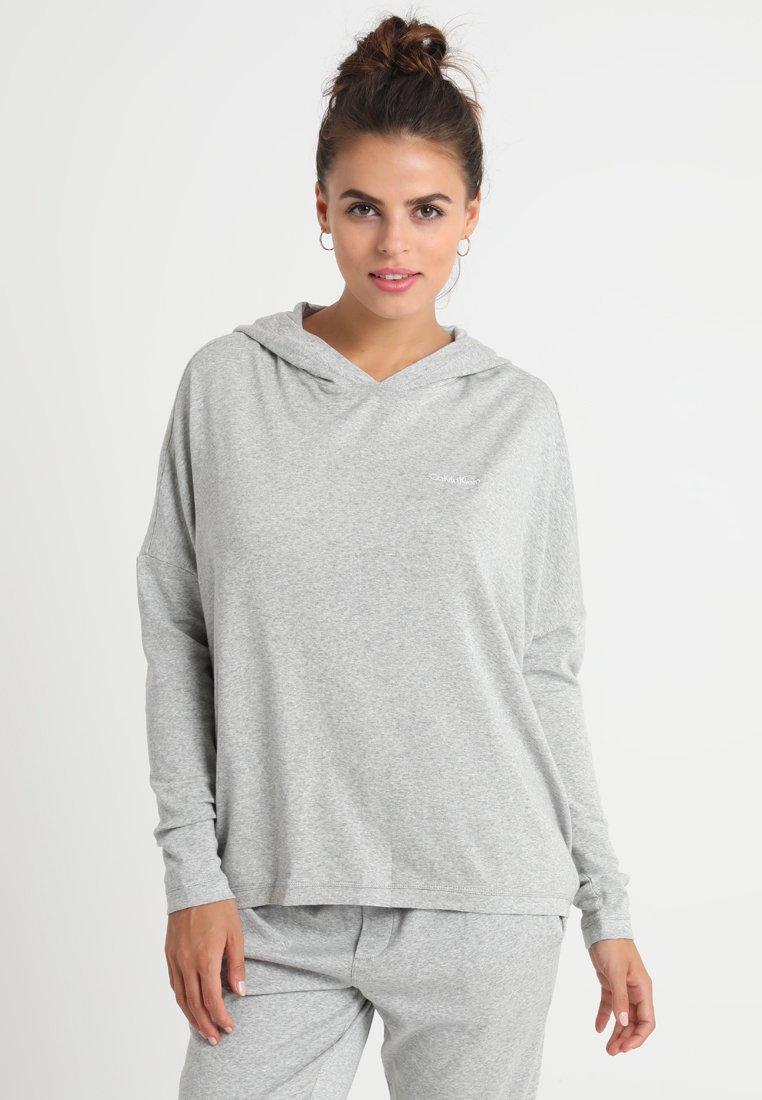 Calvin Klein Underwear - HOODIE - Nachtwäsche Shirt - grey