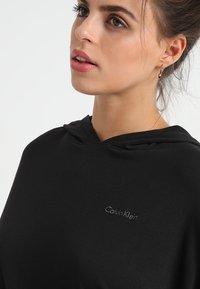 Calvin Klein Underwear - HOODIE - Pyjamashirt - black - 4