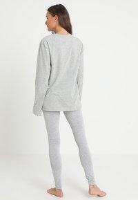 Calvin Klein Underwear - CREW NECK - Nattøj trøjer - grey - 2