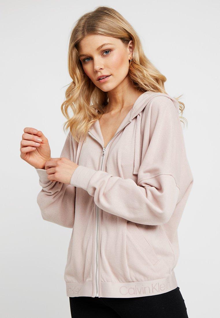 Calvin Klein Underwear - FULL ZIP HOODIE - Pyjama top - dreamer