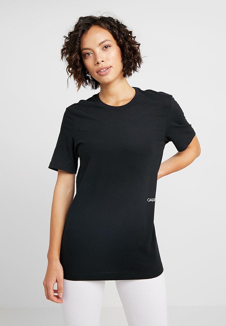 Calvin Klein Underwear - STATEMENT 1981 CREW NECK 2 PACK - Pyjama top - black