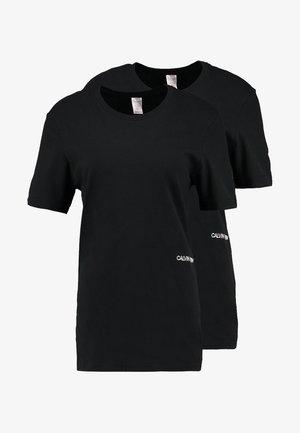 STATEMENT 1981 CREW NECK 2 PACK - Pyjamashirt - black