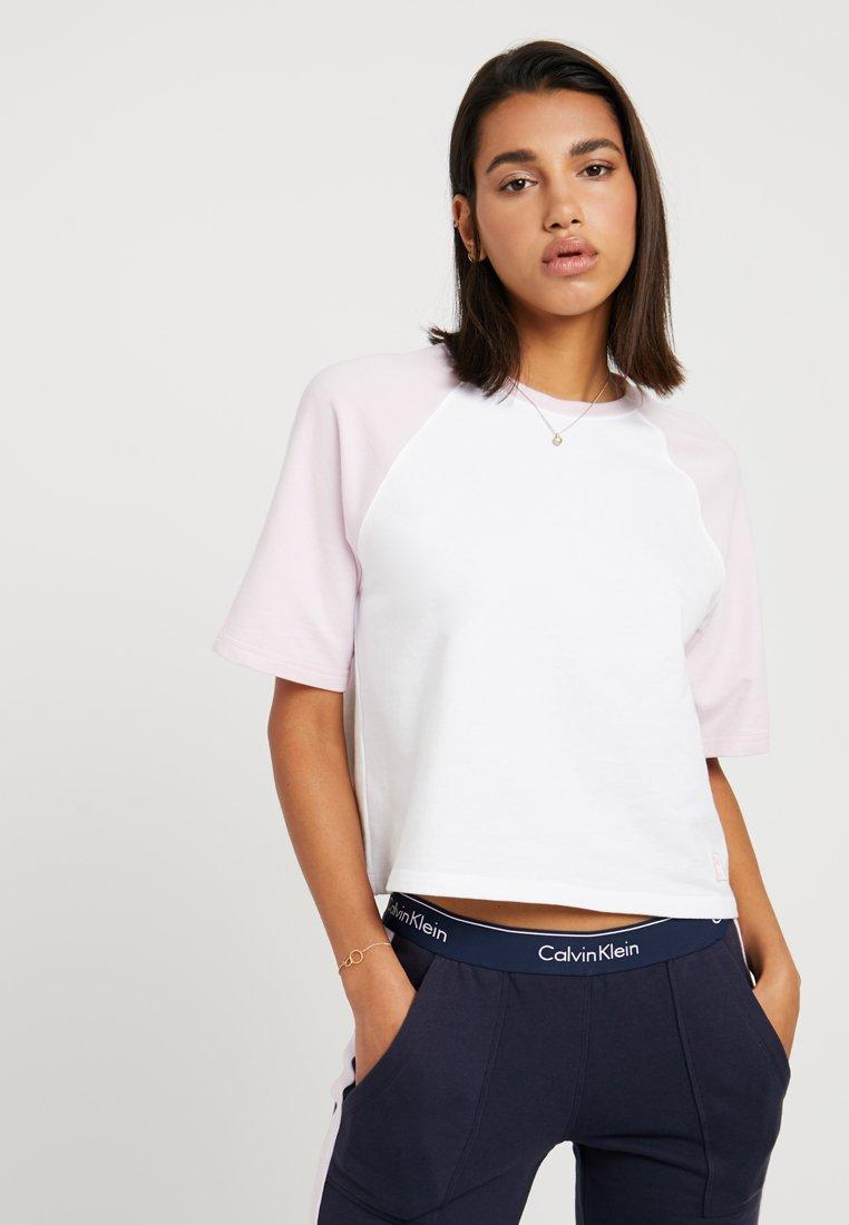 Calvin Klein Underwear - COORDINATING CREW NECK - Pyjama top - aurelie