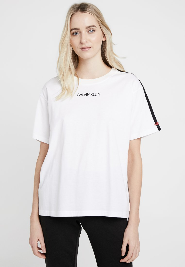 Calvin Klein Underwear - STATEMENT CREW NECK - Pyjama top - white