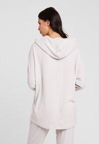 Calvin Klein Underwear - TEXTURED HOODIE - Pyjamasoverdel - gray lavendar hecci - 2