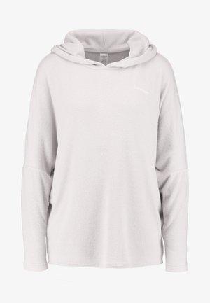 TEXTURED HOODIE - Pyjamapaita - gray lavendar hecci