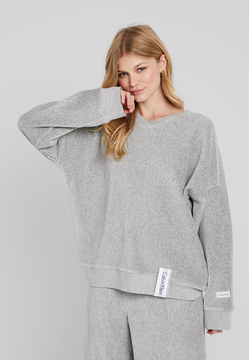 Calvin Klein Underwear - Nattøj trøjer - grey heather