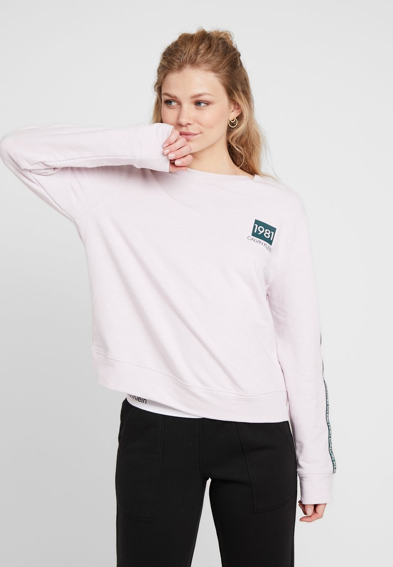 Calvin Klein Underwear - 1981 BOLD LOUNGE - Nachtwäsche Shirt - pink sky