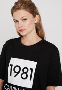 Calvin Klein Underwear - BOLD LOUNGE CREW NECK - Nattøj trøjer - black - 3