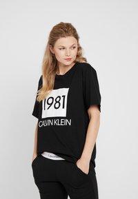 Calvin Klein Underwear - BOLD LOUNGE CREW NECK - Nattøj trøjer - black - 0