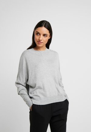 SOPHISTICATED CREW NECK - Pyjama top - grey heather
