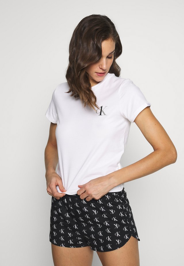CK ONE LOUNGE CREW NECK - Nachtwäsche Shirt - white