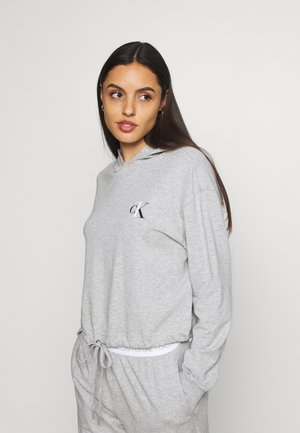 ONE LOUNGE HOODIE - Pyjamasoverdel - grey heather
