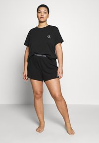 Calvin Klein Underwear - ONE LOUNGE PLUS - Pyjama top - black - 1