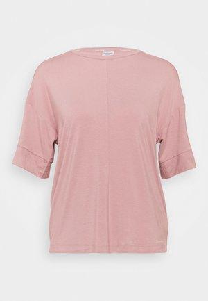 CURVE NECK - Pyjamasoverdel - alluring blush
