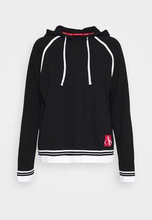 SOCK LOUNGE HOODIE - Pyžamový top - black