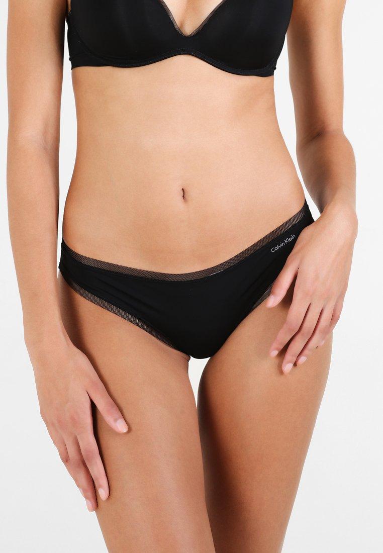 Calvin Klein Underwear - THONG - Tanga - black