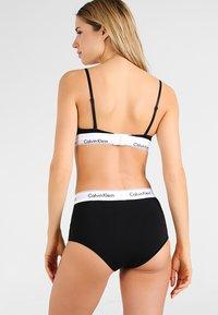Calvin Klein Underwear - HIGH WAIST HIPSTER - Slip - black - 2