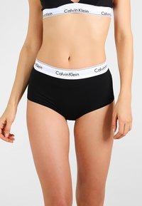 Calvin Klein Underwear - HIGH WAIST HIPSTER - Slip - black - 0