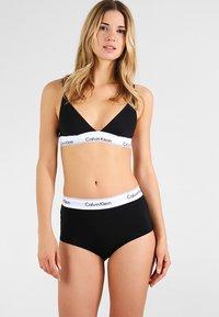 Calvin Klein Underwear - HIGH WAIST HIPSTER - Slip - black - 1