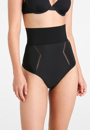 THONG HIGH WAIST - Shapewear - black