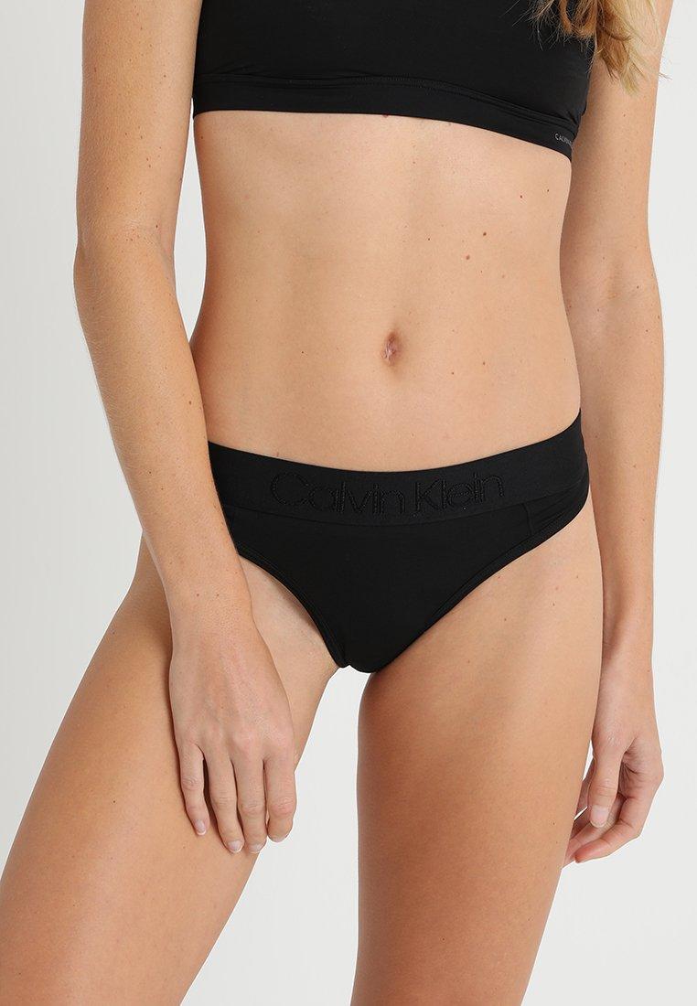 Calvin Klein Underwear - THONG - G-strenge - black