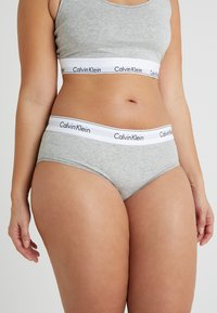 Calvin Klein Underwear - MODERN PLUS BOYSHORT - Slip - grey heather - 0