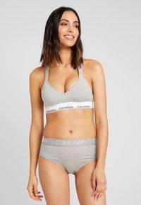 Calvin Klein Underwear - BODY HIGH WAIST - Briefs - grey heather - 1