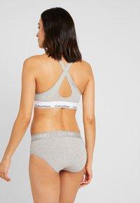 Calvin Klein Underwear - BODY HIGH WAIST - Briefs - grey heather - 2