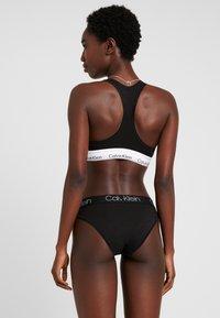 Calvin Klein Underwear - HIGH LEG TANGA - Slip - black - 2